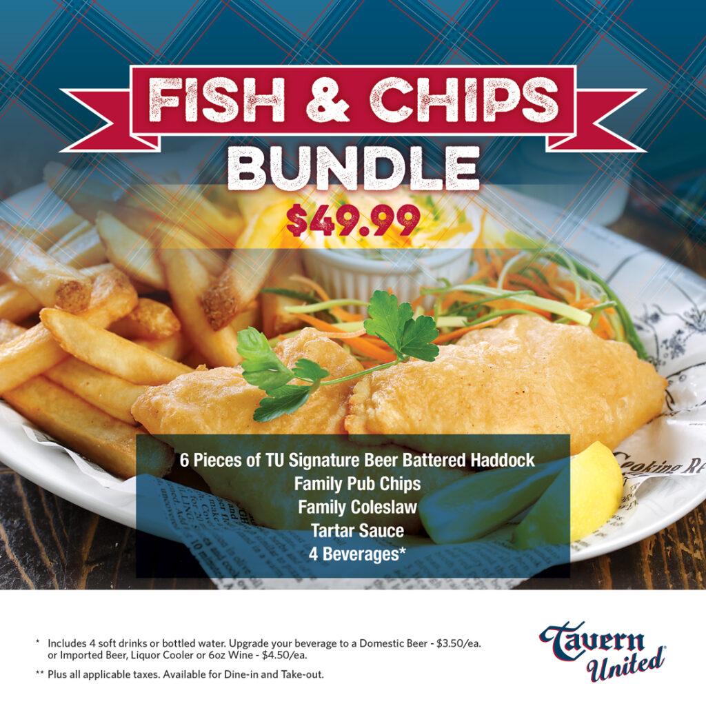 TU Fish and Chips Bundle