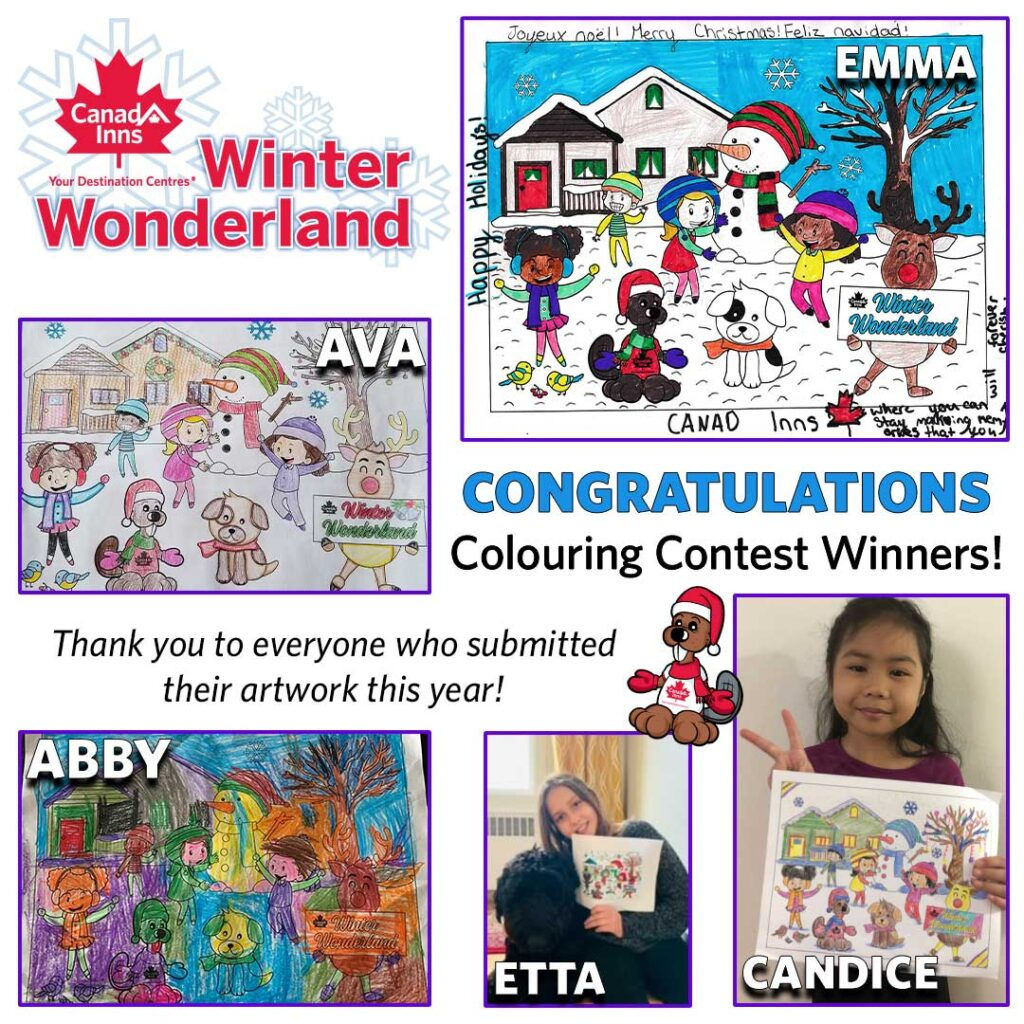 Canad Inns Winter Wonderland Colouring Contest!