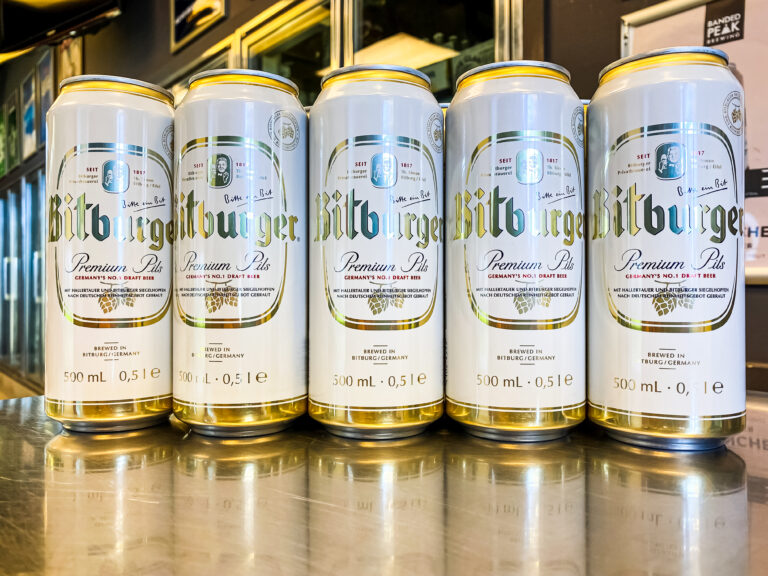 BITBURGER PREMIUM PILS – GERMANY'S NO.1 DRAFT BEER
