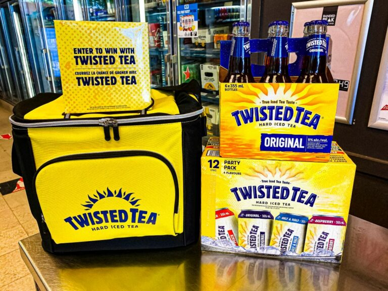 Twisted Tea product offers and ENTER TO WIN A TWISTED TEA COOLER BAG