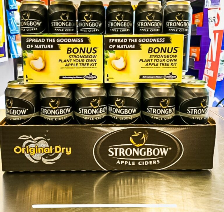 """Strongbow """"Enter to Win a Strongbow hammock"""