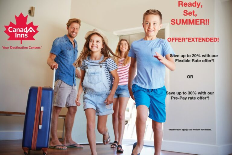 Canad Inns Summer Rooms offer - Save 20 to 30%!
